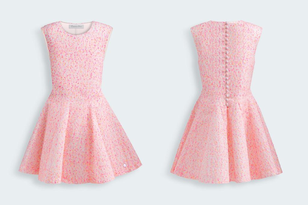 Baby Dior gorgeous powder pink shades - Fannice Kids Fashion